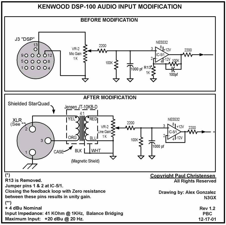 Kenwood TS850s Modifications
